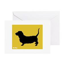Basset iPet Greeting Cards (Pk of 10)