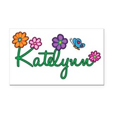 Katelynn Rectangle Car Magnet