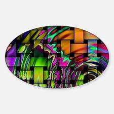 hintergrund-1314791075Hnx Sticker (Oval)