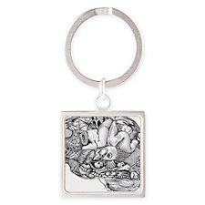 Medula OhMyGawda Square Keychain