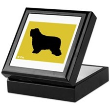 Collie iPet Keepsake Box