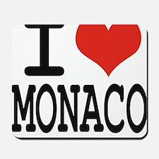 I love Monaco Mousepad