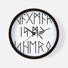shero Tshirt Wall Clock