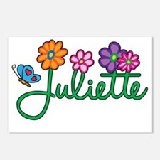 Juliette Postcards (Package of 8)