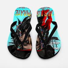 Talk Like A Pirate PosterP Flip Flops
