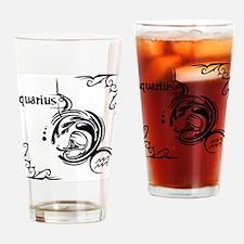 aquarius8 Drinking Glass