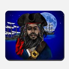Pirate and Ship-Yardsign Mousepad