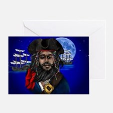 Pirate and Ship-Yardsign Greeting Card