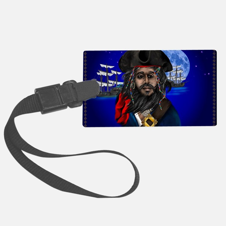 Pirate and Ship-Yardsign Luggage Tag