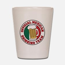 Official Mexican Drinking Team Shot Glass