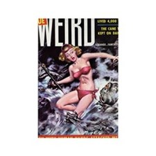 TRUE WEIRD, Nov 1955 - 18hiX300 Rectangle Magnet