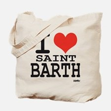 I love SAINT BARTH Tote Bag