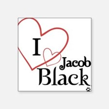 "Jacob Square Sticker 3"" x 3"""
