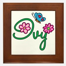 Ivy Framed Tile