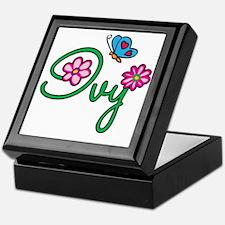 Ivy Keepsake Box