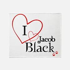 jacob3 Throw Blanket