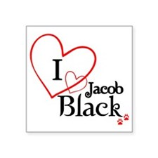 "jacob3 Square Sticker 3"" x 3"""