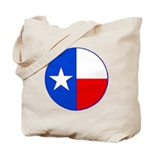 TEXAS FLAG CIRCLE Tote Bag