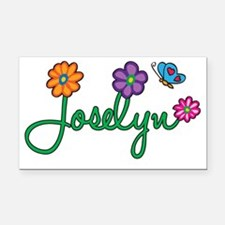 Joselyn Rectangle Car Magnet