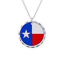 TEXAS FLAG CIRCLE Necklace Circle Charm