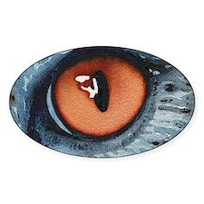 cat eye Decal