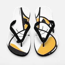 calico Flip Flops