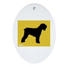 Terrier iPet Oval Ornament