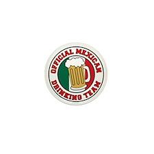 Mexican Drinking Team Pint Mini Button