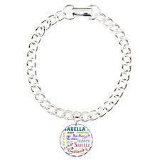 Isabellanicks Charm Bracelet, One Charm
