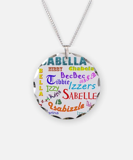 Isabellanicks Necklace Circle Charm