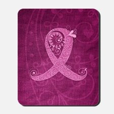 kindle_CurlyRibbon_PinkLGT Mousepad