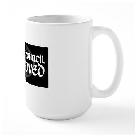 WhiteCouncil Large Mug