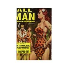 ALL MAN, May 1959 - 18hiX300 Rectangle Magnet