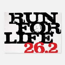 Run for Life 26 5'x7'Area Rug