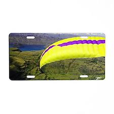 Paraglider, Treble Cone, Wa Aluminum License Plate