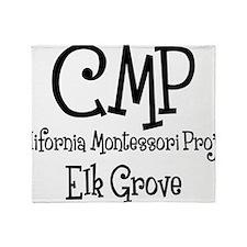 grenouille, CMP Mont EG, black Throw Blanket
