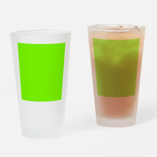 Chartreuse Web Color 7FFF00 Drinking Glass