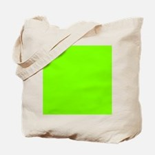 Chartreuse Web Color 7FFF00 Tote Bag