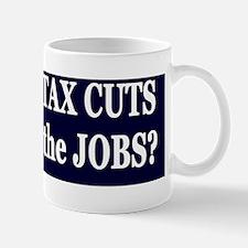 10 years Are Jobs dk bl-w bumper sticke Mug