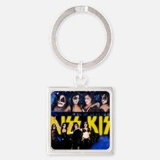 December Poster Print Square Keychain