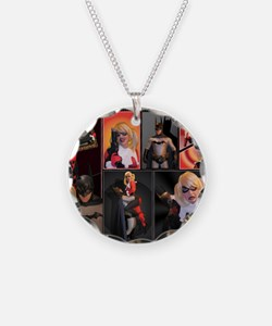 February Poster Print Necklace