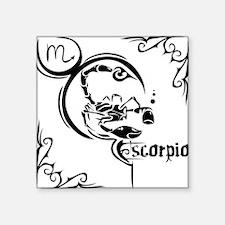"""Scorpio9 Square Sticker 3"""" x 3"""""""