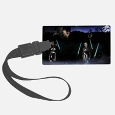 October Poster Print Luggage Tag