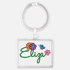 Eliza Landscape Keychain
