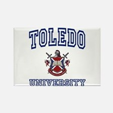 TOLEDO University Rectangle Magnet