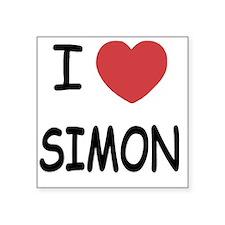 """SIMON Square Sticker 3"""" x 3"""""""