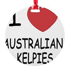 AUSTRALIANKELPIES Ornament