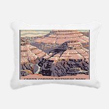 men_wallet_09 Rectangular Canvas Pillow