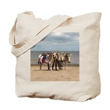 In the Donkey Ride Que Tote Bag