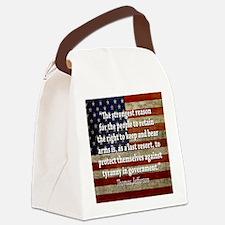 men_wallet_06 Canvas Lunch Bag